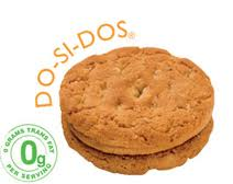 Do-si-dos Girl Scout Cookies